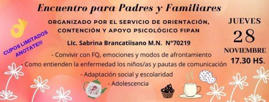 Encuentro para Padres y Familiares (1)